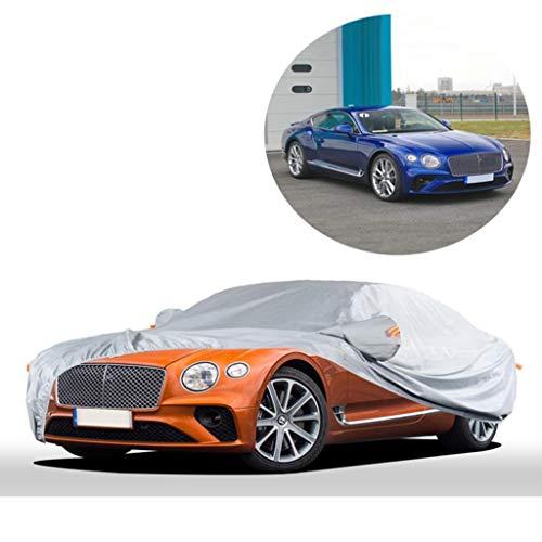 Car-Cover/Kompatibel mit Bentley Continental/Four Seasons Außen Abdeckung Innen- und Außenatmungsaktive Abdeckung automatische Abdeckung Mobil Carport Mobil Carport