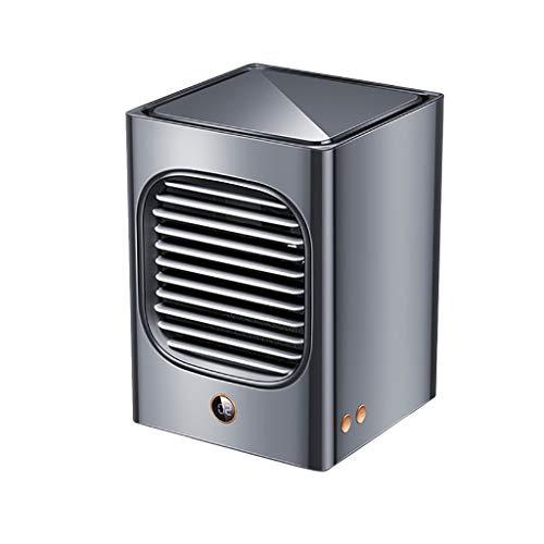 180 x 130 x 140 mm ventilador de aire acondicionado portátil, aire acondicionado de escritorio, refrigerador de cabezal de oscilación para el hogar, la oficina, viajes, uso individual