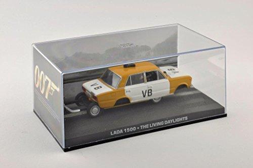 Metal Modellauto 1:43 Diorama Lada 1500 Polizei James Bond 007 The Living Daylights