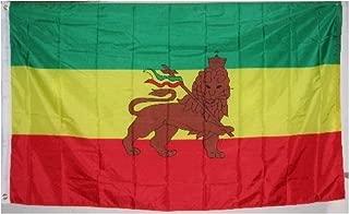 LION OF JUDAH FLAG - - - - 3 x 5 ft - - - Juddah Rasta Colors poster