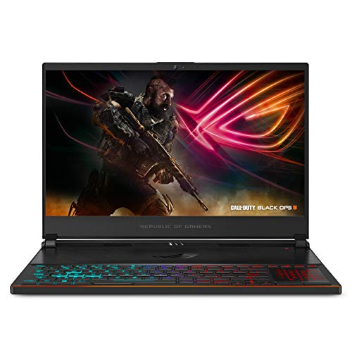 "ASUS ROG Zephyrus S Ultra Slim Gaming Laptop, 15.6"" 144Hz IPS Type, Intel i7-8750H Processor, GeForce GTX 1070 8GB, 24GB DDR4, 1TB PCIe NVMe SSD, Military-Grade Chassis..."