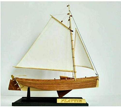 RUXMY Decoración Modelo de velero Hobby Ship Kit de Modelo de Madera: Escala 1/35 Modelo de Barco de Pesca Americano