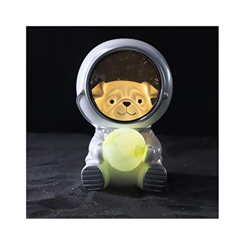 Lámpara de mesa, Animal Astronauta Diseño Luces de Noche Lámparas de Noche Dormitorio Decoración...
