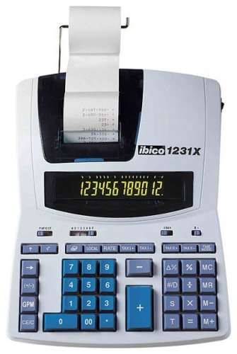 Rexel IB404009 Calculatrice imprimante Grey/Bleu