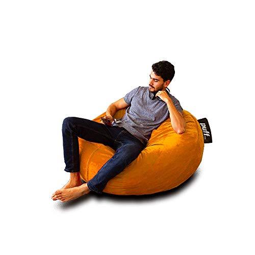 puff naranja de la marca Puff MX