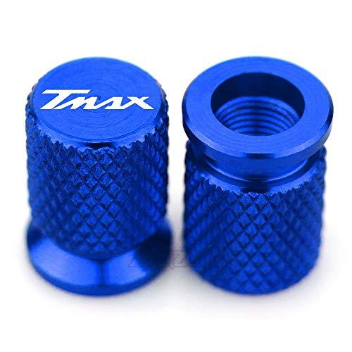 ZMDA Nueva llegada TMAX CNC Válvula de neumático de aluminio Válvula de aire CAP DE CAP DE MOTORCOCLETAS PARA YA.MA.HA TMAX T-MAX 530 2013 2014 2015 2016 2017 2017 2018 Duradero y práctico