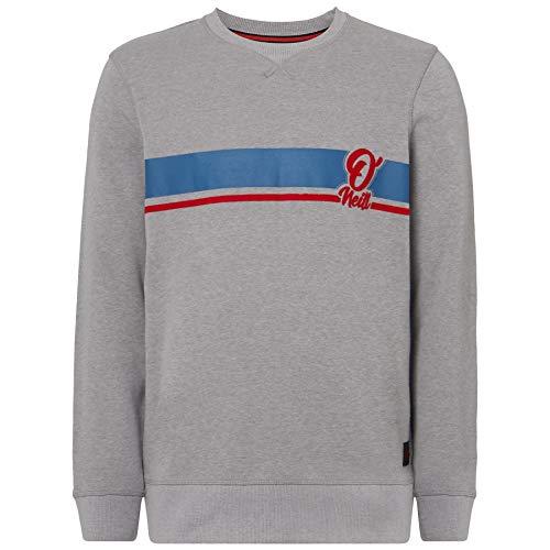 O'Neill Herren LM Arrow Crew Sweatshirts, Silver Melee, XL