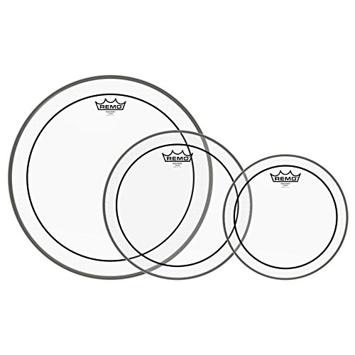 Remo Pinstripe Clear Drum Head Pack