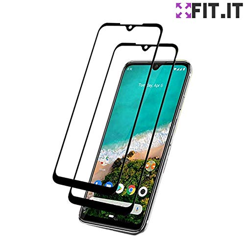 [FIT.IT] Kit 2x Películas de Vidro 3D Blindadas 100% Tela Xiaomi Mi A3 2019