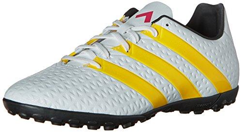 adidas Performance Women's Ace 16.4 TF Soccer Shoe,White/Gold/Black,11 M US