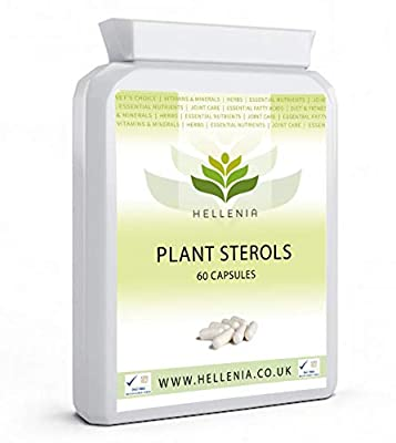 Hellenia Plant Sterol (Beta Sitosterol) 200mg - 120 Capsules - Healthy Cholesterol Level by Lifesource Supplements Ltd