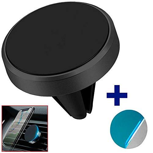 OcioDual Mini Soporte Magnético para Rejilla de Coche Vehículo Ventilación Universal con Imán Potente Teléfono GPS