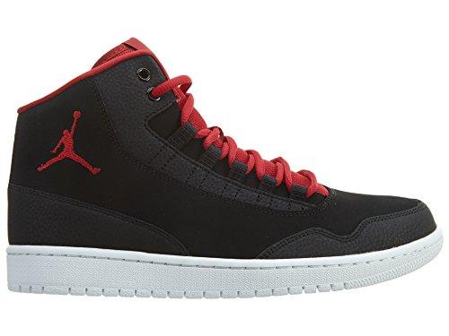 Nike Jordan Executive, Herren Turnschuhe, Schwarz/Rot, 44 EU