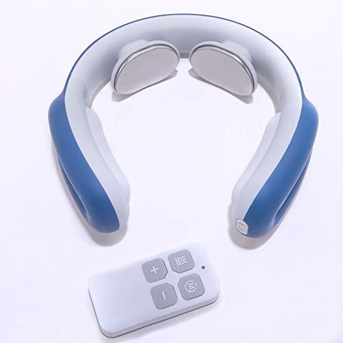 Masajeador de Cuello Inteligente · Masajeador Cervical con Pulso Electromagnético · Masaje y Calentamiento Inteligente del Cuello para Aliviar Dolor Muscular · Disponible en 3 colores