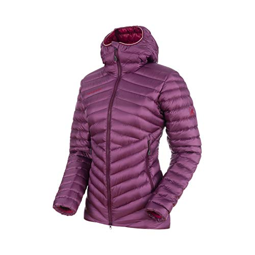 Price comparison product image Mammut 1013-00350 Women's Broad Peak in Hooded Jacket,  Grape / Beet - XS
