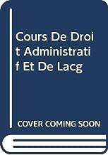Cours De Droit Administratif Et De Lã©g