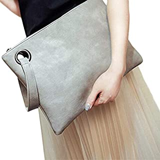 iBag's Fashion solid women's clutch bag leather women envelope bag clutch evening bag female Clutches Handbag Immediately shipping