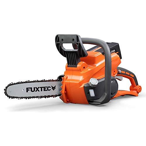 """FUXTEC Akku Kettensäge E214C Oregon Schwert 35cm 40V Lithium li Batterie mit\""""one Battery fits all\"""" für alle FUXTEC-Geräte"""