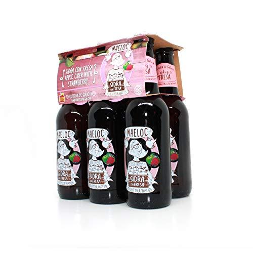 Maeloc Sidra con Fresa - Pack de 6 x 330 ml