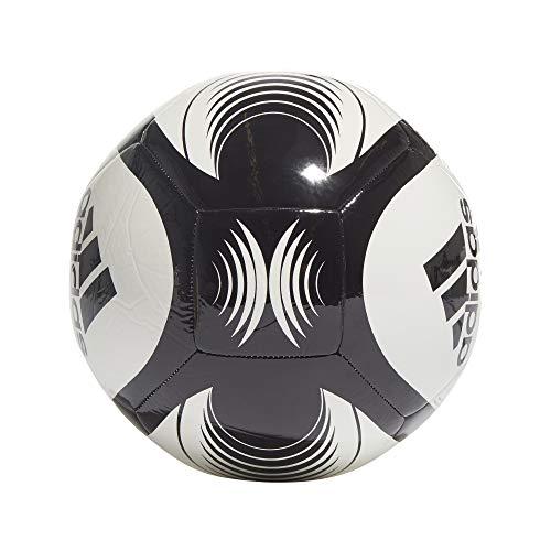 adidas STARLANCER Club, Pallone da Calcio Unisex Adulto, Bianco Nero, 5