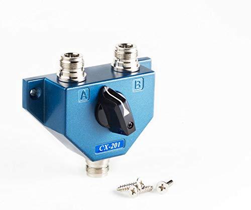 Conmutador Antena 2 salidas CX-201N (conector tipo N)