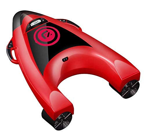 AHELT-J Tabla de Surf Eléctrica, Tabla de Natación Eléctrica, Skateboard Acuático Swim Board Adecuado para Natación, Surf, Inmersiones Poco Profundas, Control de Velocidad de 5 Velocidades.
