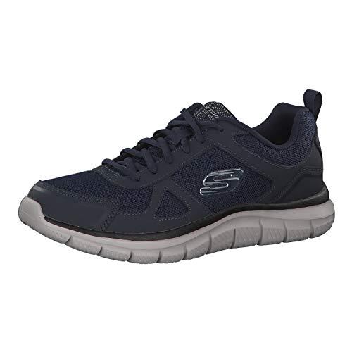 Skechers Track-scloric 52631-nvy, Scarpe da Ginnastica Basse Uomo, Blu (Navy 52631/Nvy), 41 EU
