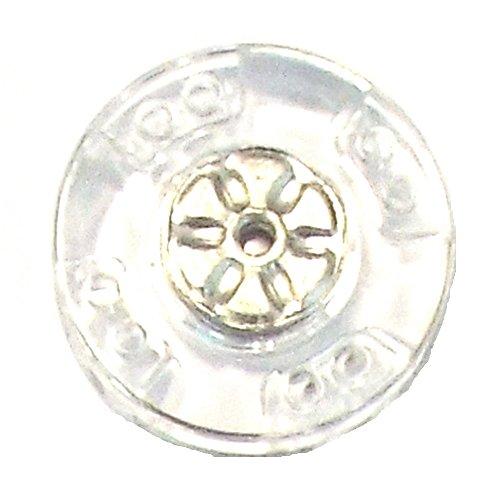 5 Druckknöpfe zum Annähen Kunststoff/Metall 21 mm