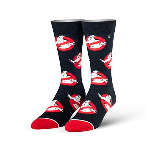 ODD SOX Unisex Crew-Socken - Ghostbusters Logos (Größe: 38-46)