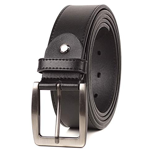 BelePala Big and Tall Belts for Men Black Waist 40 & 42 Inch