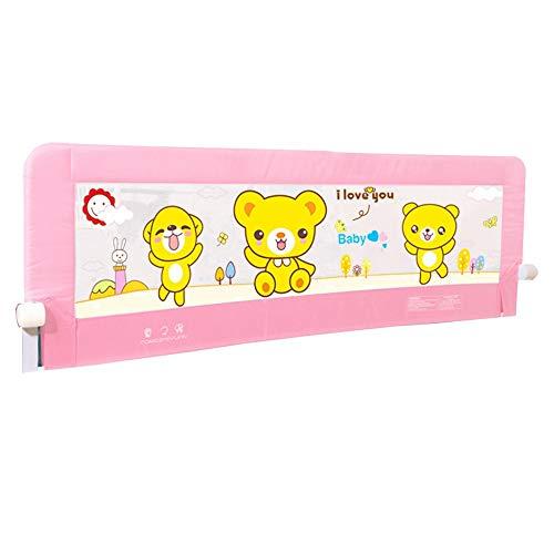 Bettgitter HUO Kleinkinder Bettschutz Für Ihr Kids Klappbares Betten Boxspringbetten Kids- Und Kinderbett (Color : A, Size : 150cm)