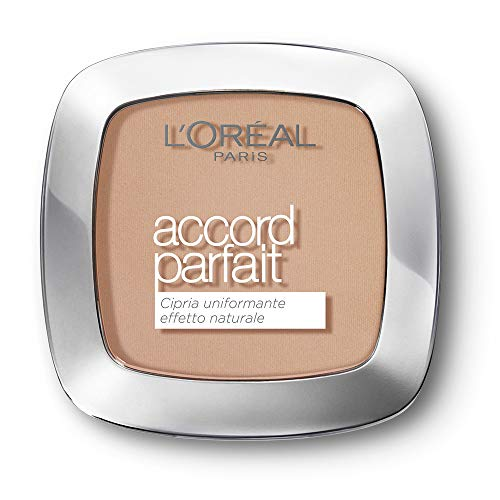 L'Oréal Paris MakeUp Cipria Uniformante Accord...