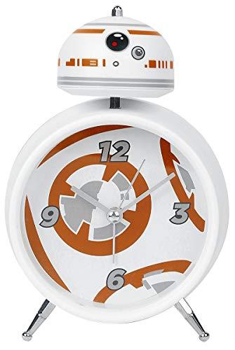 Paladone Despertador Star Wars BB 8, Metal, Multicolor, 16x10x6 cm