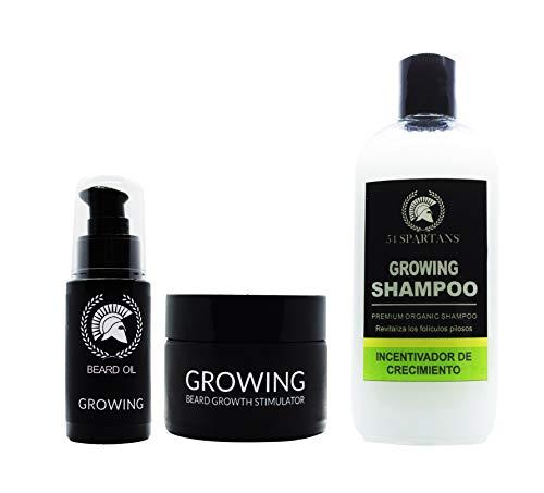 Nuevo en Amazon! Super Kit Incenvador de Crecimiento para Barba. 95% de efectividad. 100% orgánico. Envío en 24 horas. Ganador Premio Producto más vendido en España 2019!