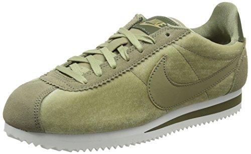 Nike Wmns Classic Cortez Se, Zapatillas de Gimnasia Mujer, Verde (Neutral Olive/Neutral Olive/MT 203), 43 EU