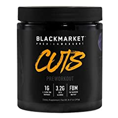 SPECIALIZED PRE WORKOUT: CUTS specifically formulated to maintain muscle mass and maximize muscle definition; designed to provide energy, nutrients, and compounds needed to train longer and work harder in route to a shredded lean physique. PREMIUM IN...