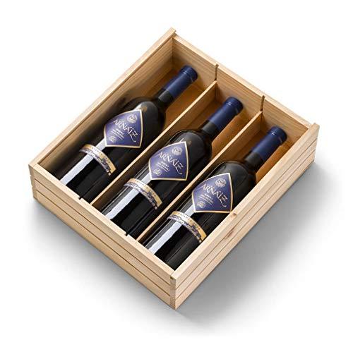 Viña Arnáiz Crianza - Vino Tinto D.O Ribera del Duero - Estuche de 3 Botellas x 750 ml