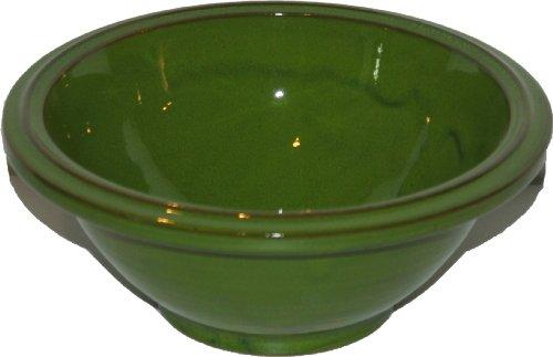 Amazing Cookware Bol en Terre Cuite Vert 20 cm