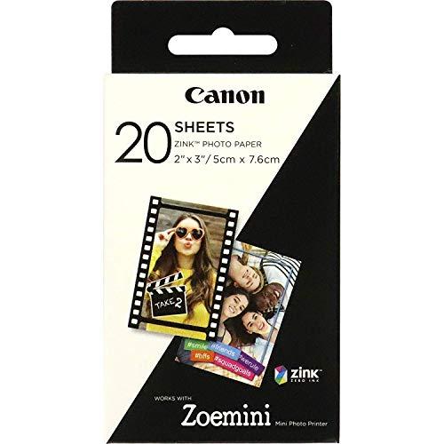 Canon Papier Zink (20 feuilles, 5 x 7,6 cm)