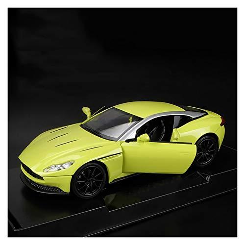 YYQIANG Aleación deportes coche juguete niño carreras modelo juguete simulación sonido y luz tirón trasero juguete de niño coche metal resistente a la cadera puerta apta de juguete de juguete de jugue