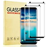 Lixuve Vidrio Templado para Samsung Galaxy S9 Plus, Alta Definición Cristal Templado Protector Pantalla para Samsung S9 Plus, Cobertura Completa, Anti-Arañazos, Anti-Burbuja, Dureza 9H, 2 Unidades
