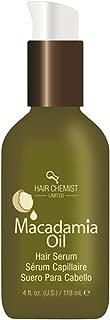 Hair Chemist Macadamia Oil Hair Serum, 4 Ounce