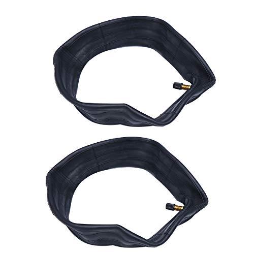Abaodam 2pcs 8.5 pulgadas espesar neumáticos internos - absorbente neumático interior goma anti-explosión tubo neumático compatible para Xiaomi M365 Scooter eléctrico (negro)