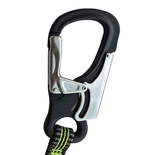 Spinlock 2 Clip & 1 Link Elasticated Performance Sicherheitsleine - Leicht - Neue leichte Sicherheitsleinen mit benutzerdefiniertem Clip