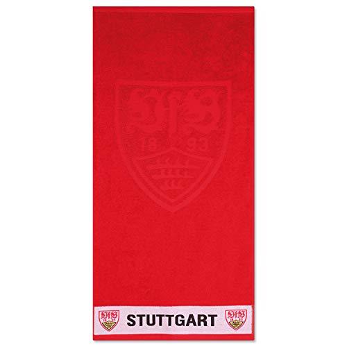 VfB Stuttgart Duschtuch Wappen hoch,tief 70x140 cm, 19057