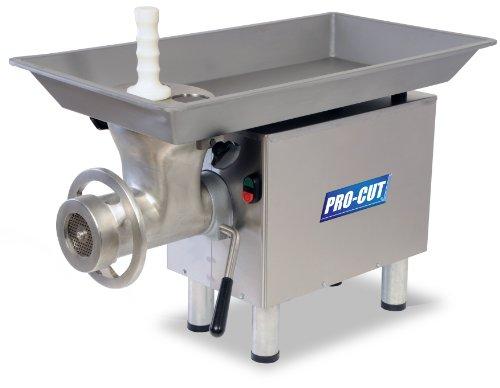 PRO-CUT KG-22-W Meat Grinder, 1 hp Motor, Stainless Steel...
