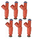 Re-Manufactured 12-Hole Nozzle Upgrade Genuine Bosch Set Of 6 Fuel Injectors For 1999-2000-2001 Jeep Cherokee 4.0L I6