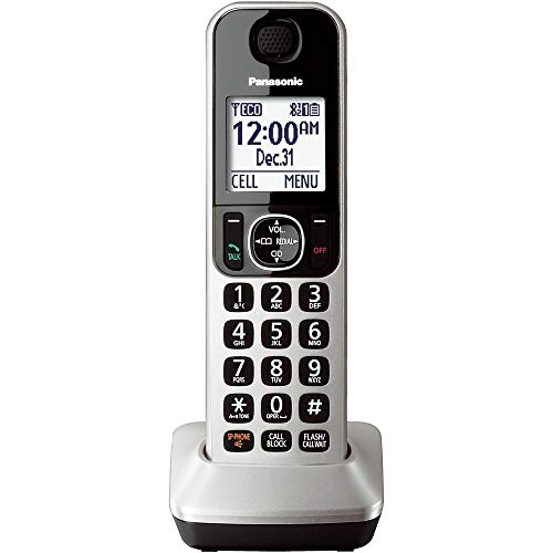 Panasonic KX-TGFA30S (Handset Only) Additional Digital Cordless Handset for KX-TGF370S and KX-TG580S...