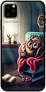 iPhone 11 (6.1 inch) Case,Blingy's Solid Owl Style Soft TPU Protective Case Compatible for iPhone 11 6.1