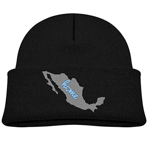 975 Gorro De Esquí Esquema del Mapa De México Inicio Gorro De Invierno Respirable Slouch Beanie Vintage Gorro Beanie Hat para Ciclismo, Snowboard, Moto